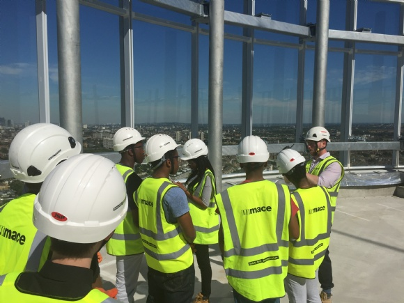 Budding Brunels with Mace Construction
